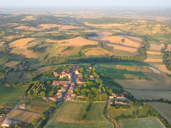 photo aérienne d'Alan, Vue générale