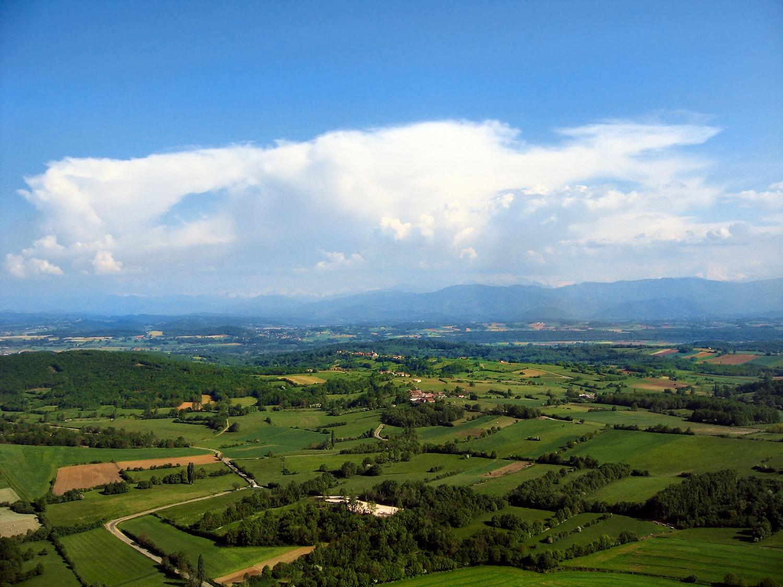 Photo aérienne d'Arnaud-Guilhem en Haute-Garonne