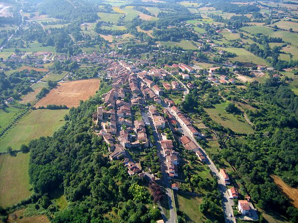 Photo aerienne d'Aurignac