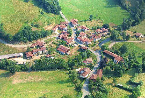 Photo aérienne de Barat