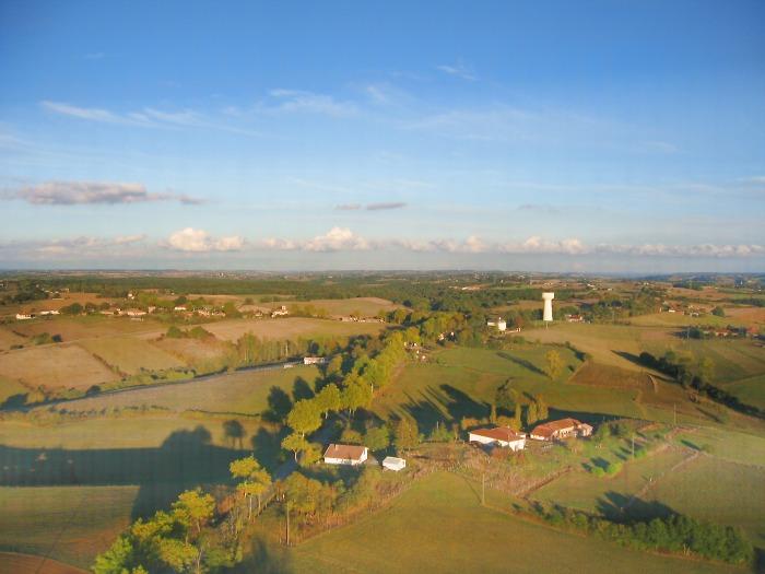 vue aerienne de Berruts, 31230 Lilhac