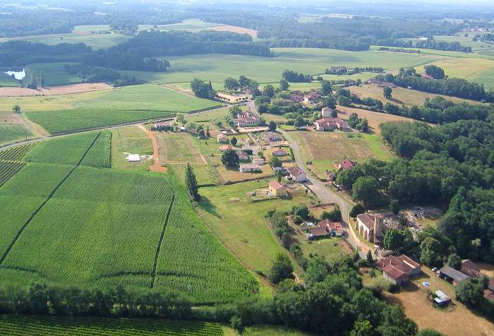 Photo aérienne de Bourdalat