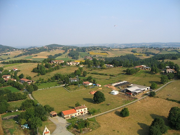 photo aérienne de Bout du Village, 311160 Montastruc de Salies
