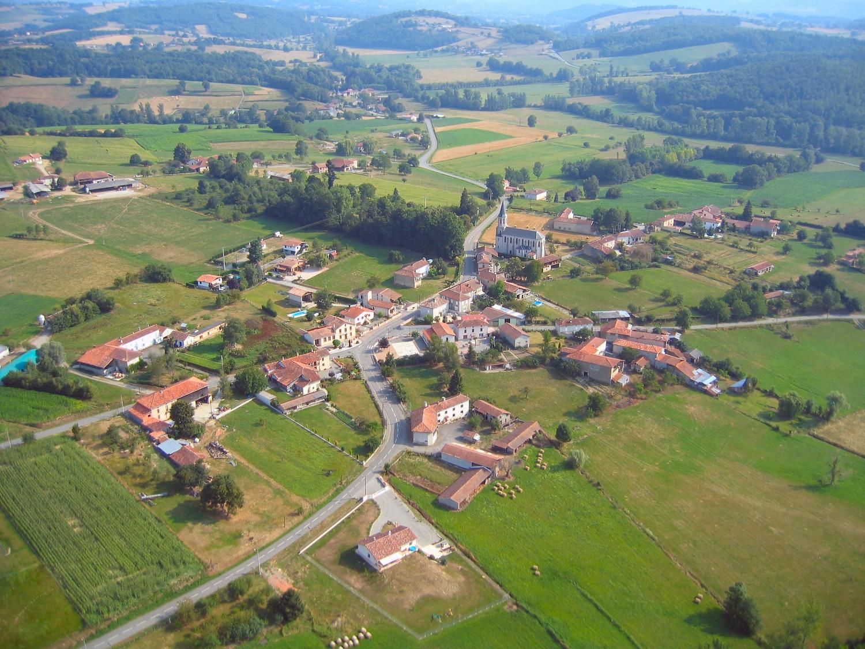Photo aerienne de Castelbiague