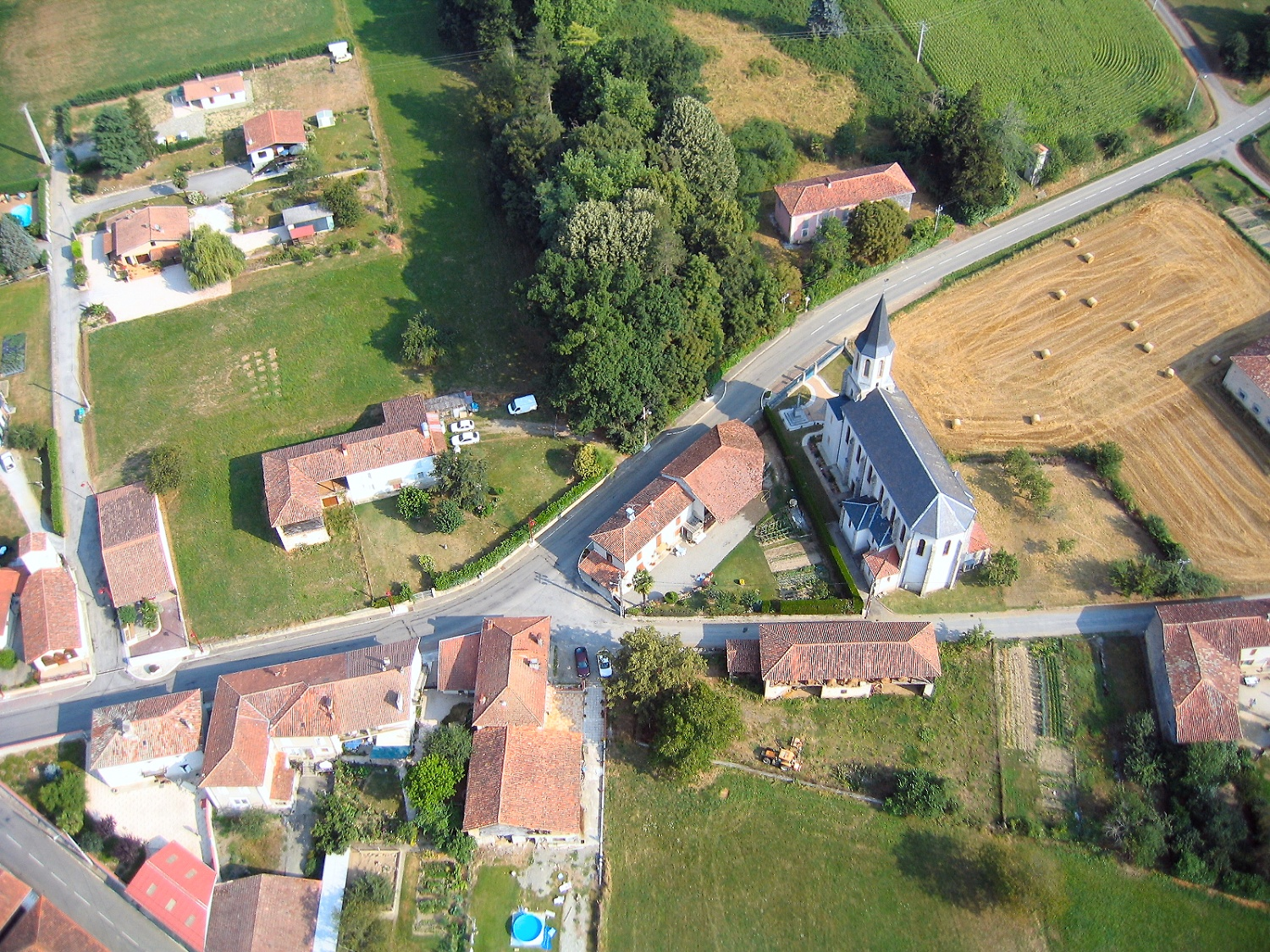 Photo aerienne de Castelbiague