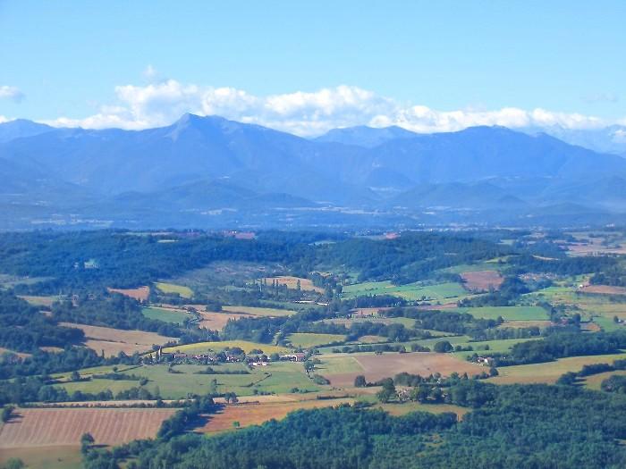 photo aerienne de Cazeneuve-Montaut