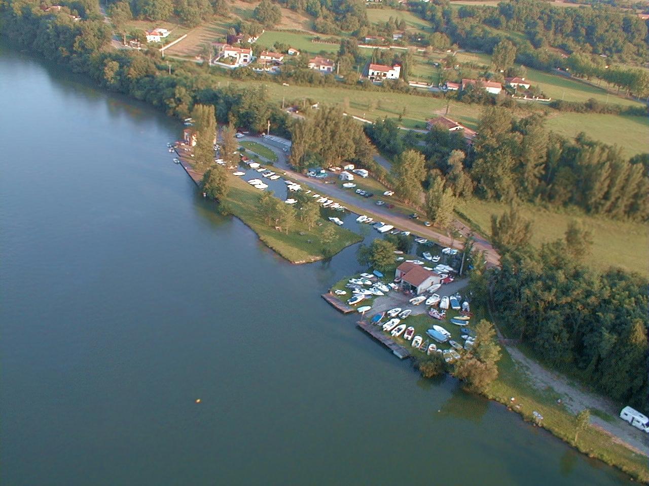 Photo érienne en grand format de Cazeres sur Garonne