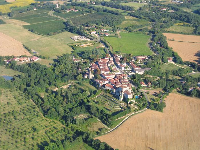photo aérienne #1 de Courrensan