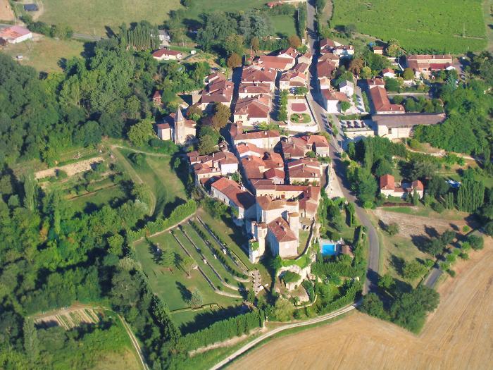 photo aérienne #2 de Courrensan