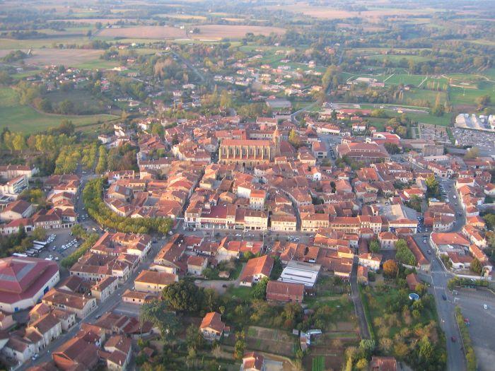 Photo aérienne d'Eauze