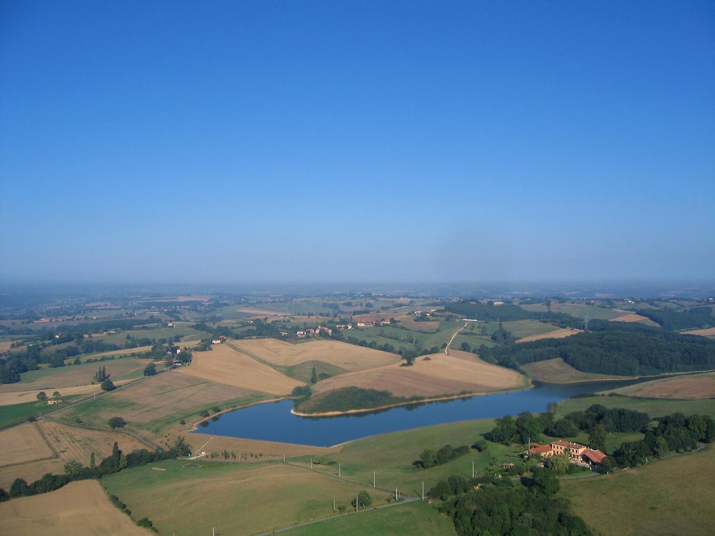 Photo aerienne d'Esparron en Haute-Garonne