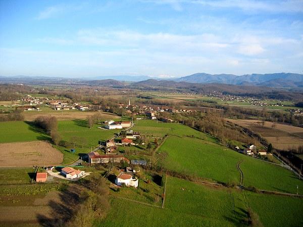 photo aérienne d'Estancarbon
