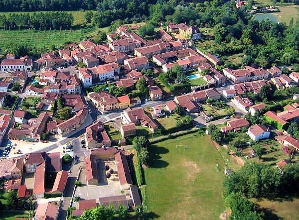 Photo aerienne d'Estang