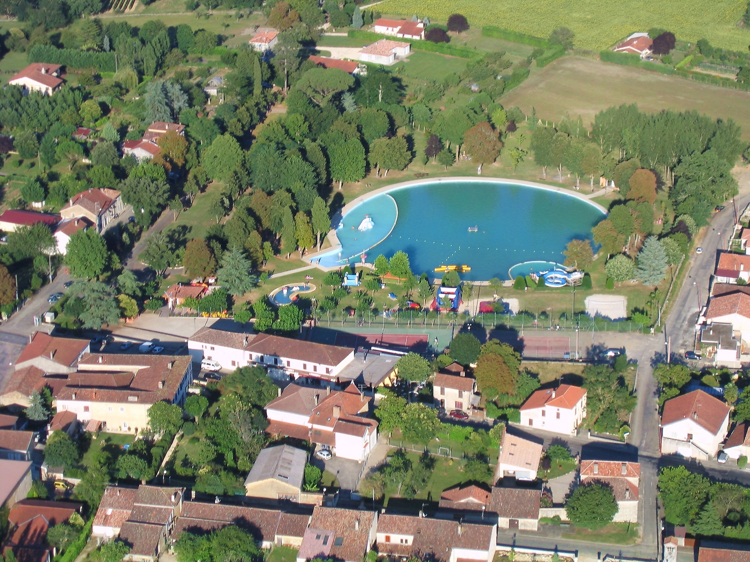 Photo aerienne de Gondrin
