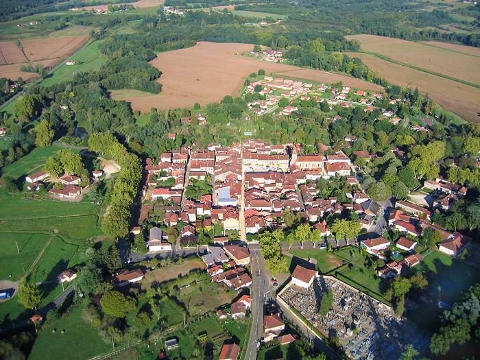 photo aérienne #002 de LaBastide d'Armagnac