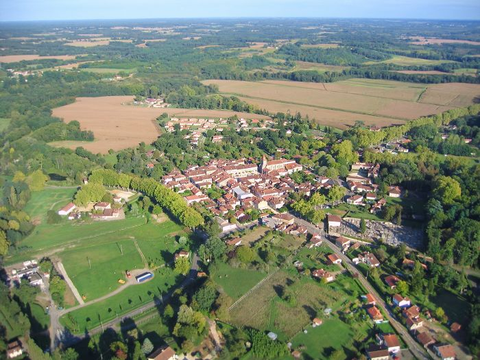 photo aérienne #1 de LaBastide d'Armagnac