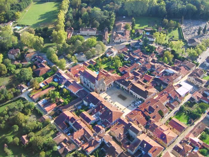 photo aérienne #3 de LaBastide d'Armagnac