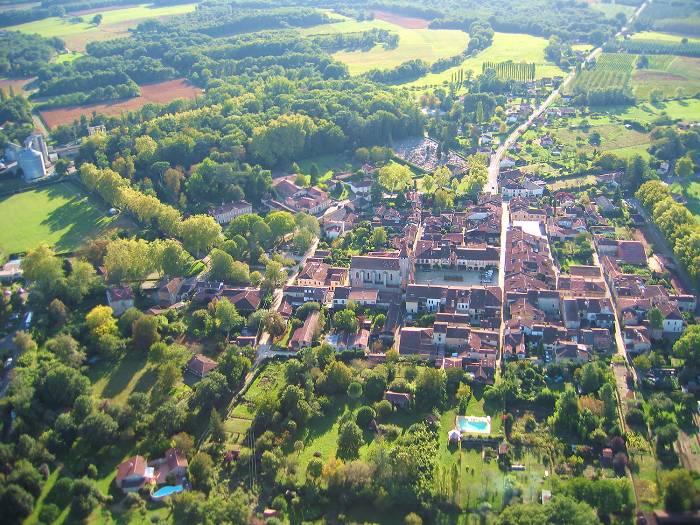 photo aérienne #4 de LaBastide d'Armagnac