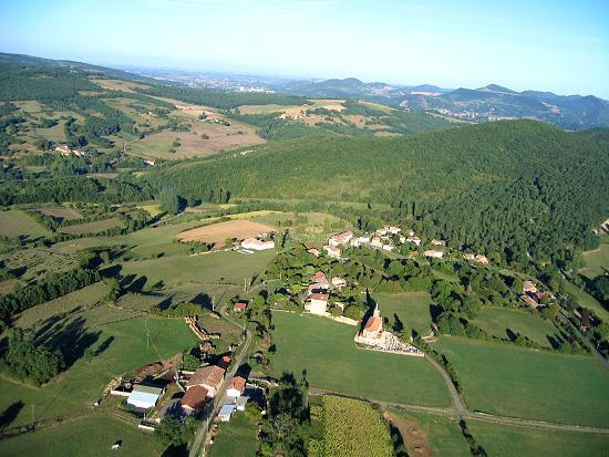 photo aérienne de Laffite-Toupière
