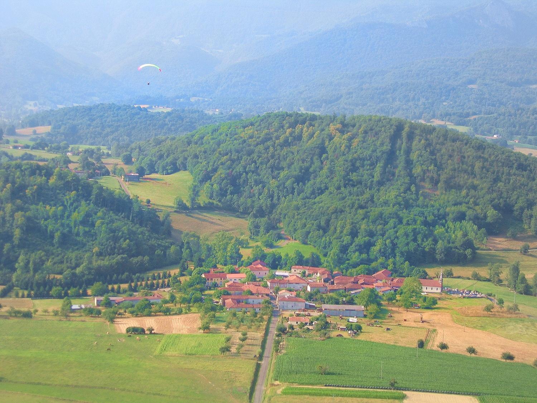 Photo aerienne de Lannes 31160 Montastruc de Salies