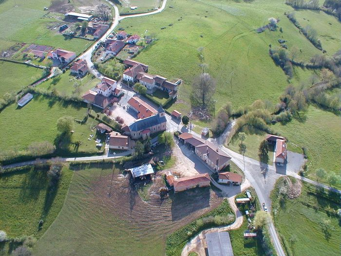 Photo aérienne de Larcan