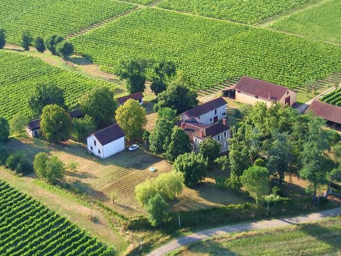 Vue aérienne de le Toupié à Parleboscq