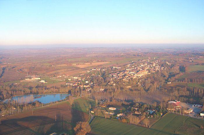 photo aérienne de Montréal du Gers