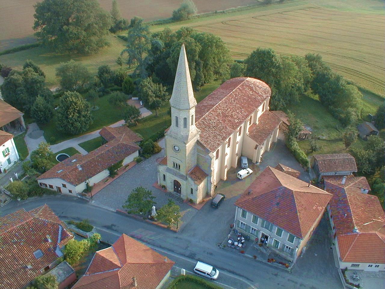 Photo aerienne de Saint-André