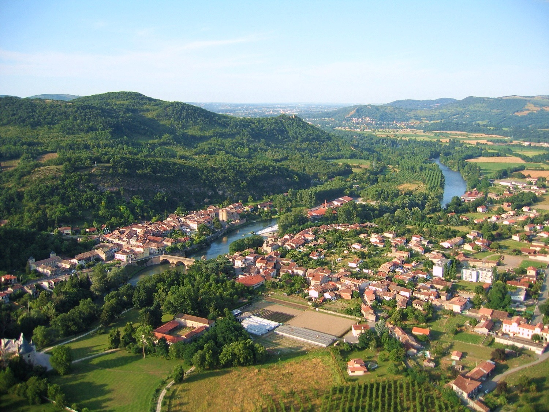 photo aérienne en grand format de Saint Martory en Haute-Garonne