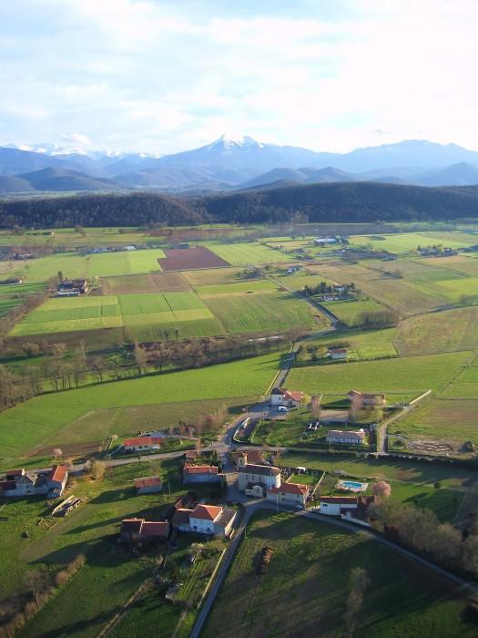 vue aerienne de Savarthès