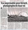 Un article élogieux de ''La dépéche du Midi'' sur l'auteur