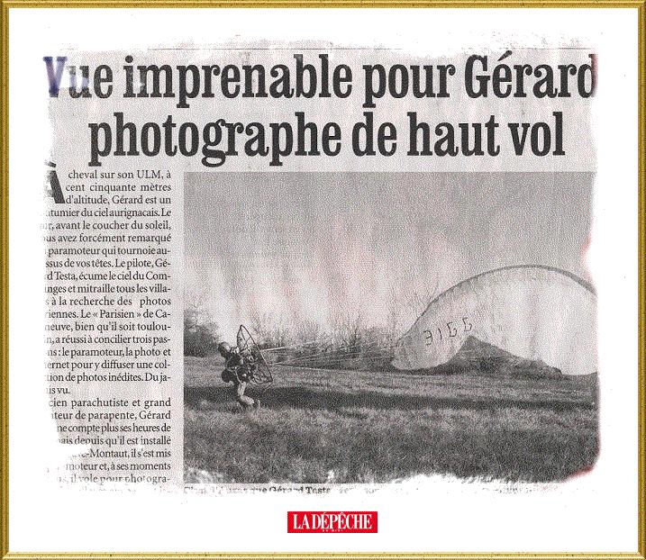 Extrait de la Dépêche du Midi du 13 février 2004